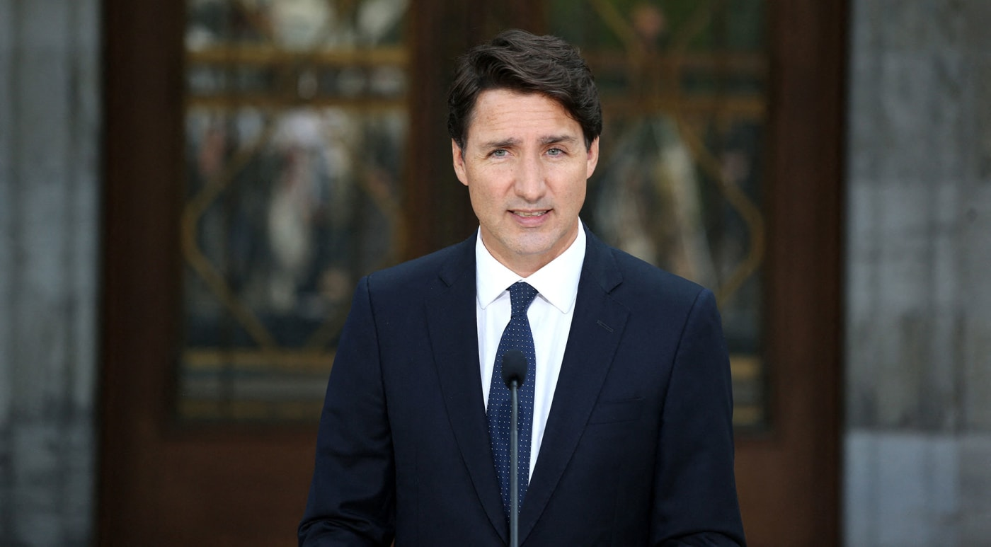 Prime Minister Justin Trudeau announces snap election on September 20