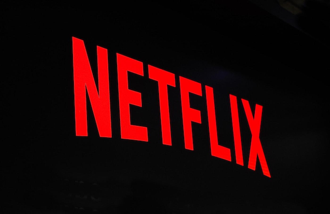 Netflix logo exhibited during the Mobile World Congress, .