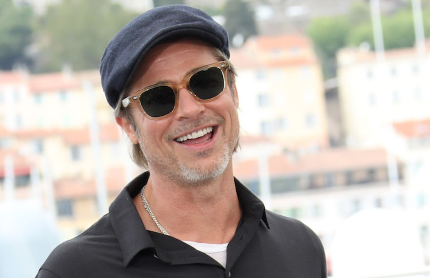 """Brad Pitt attends thephotocall for """"Once Upon A Time In Hollywood."""""""