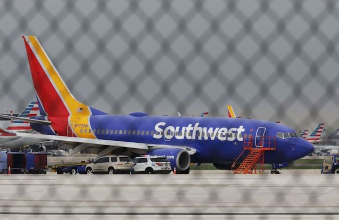Southwest Airlines man