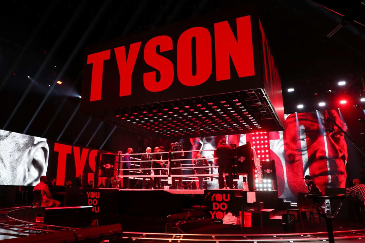 Tyson Ring Staples Center 2020
