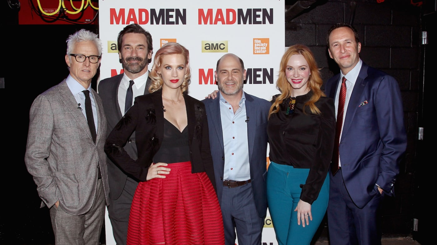 """""""Mad Men"""" cast attend special screening at The Film Society of Lincoln Center."""