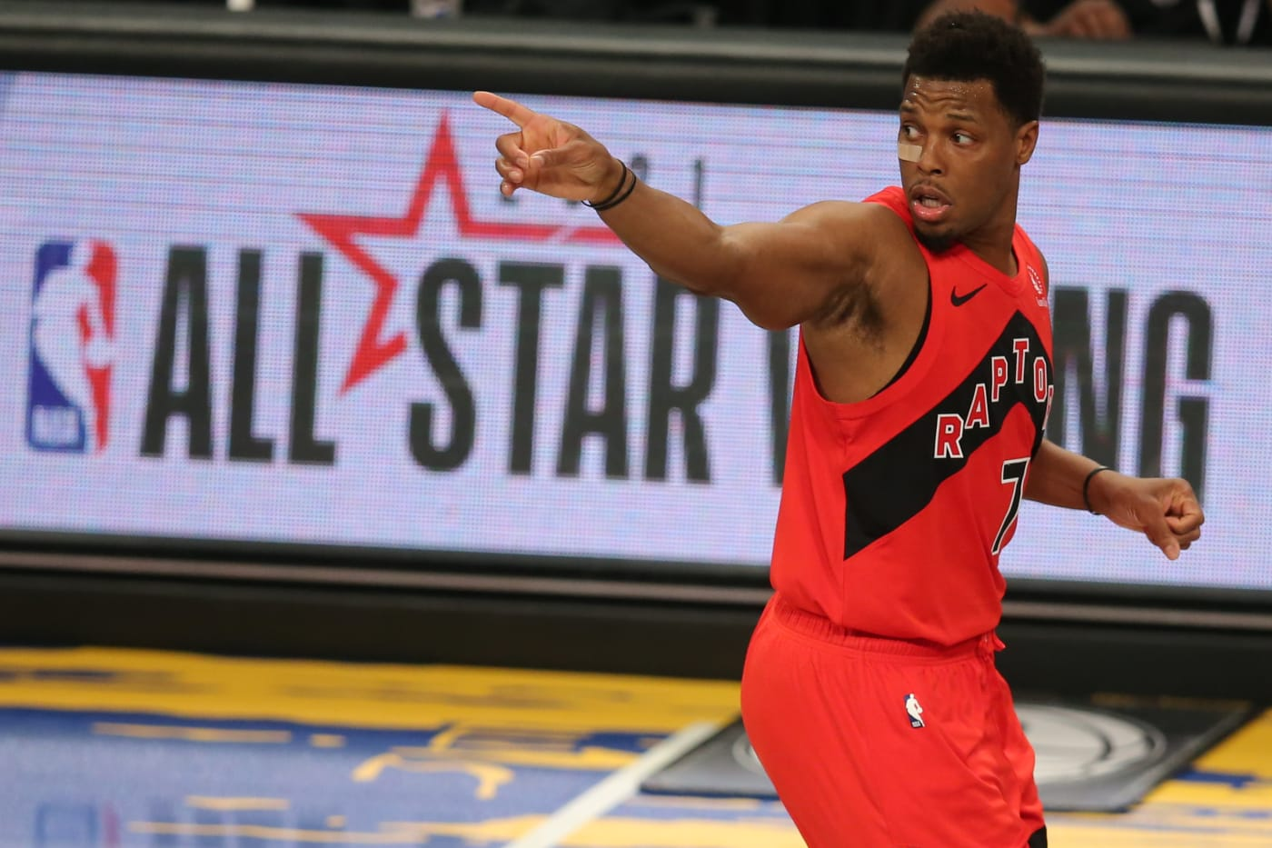 Kyle Lowry Raptors Nets 2021