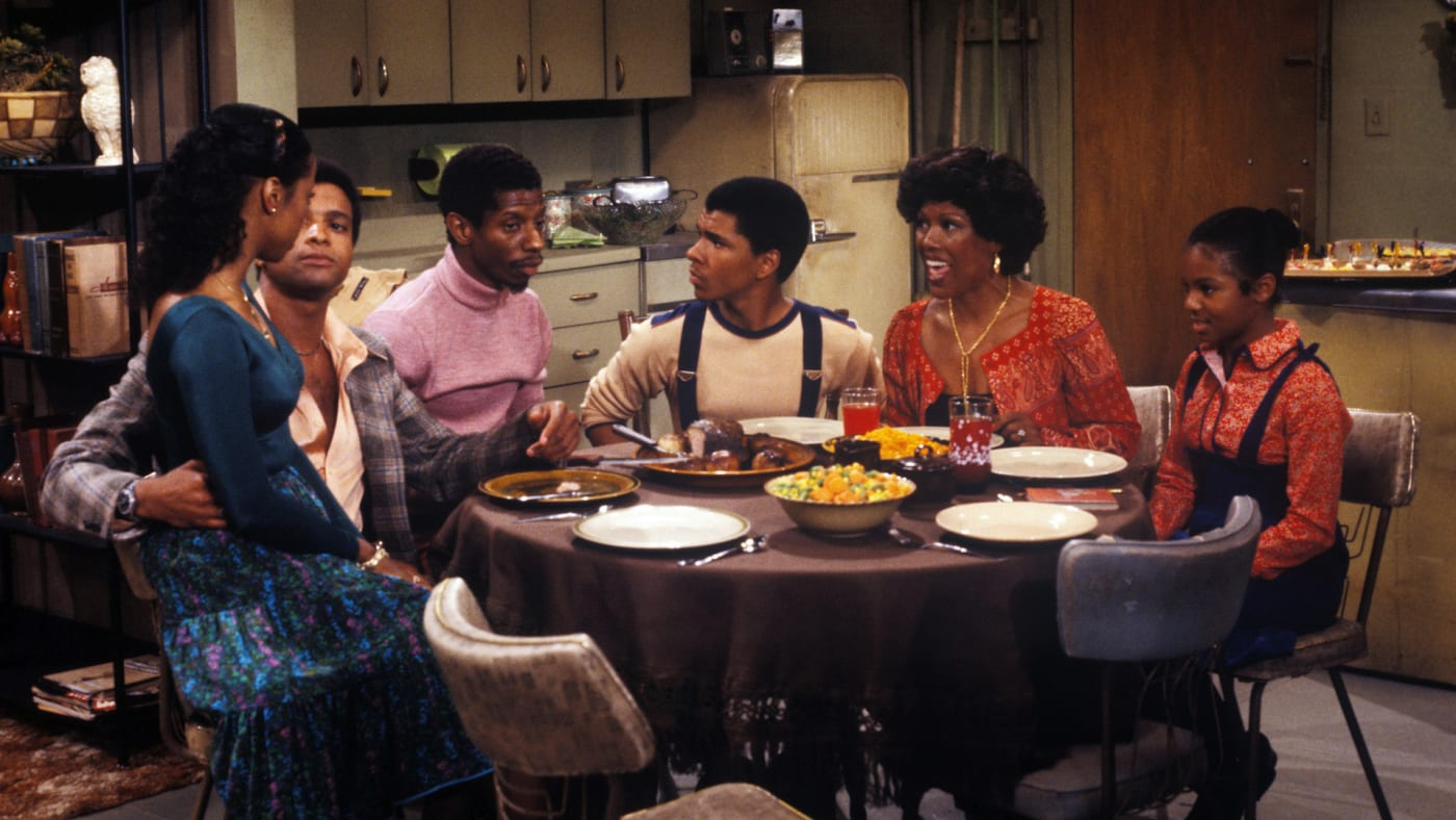 Scene from the television series 'Good Times.'