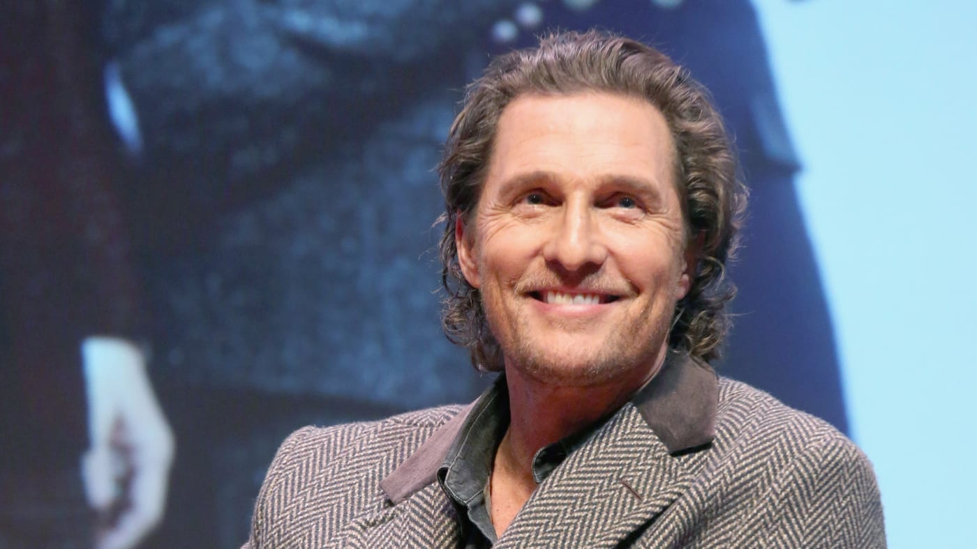 Matthew McConaughey participates in a Q&A