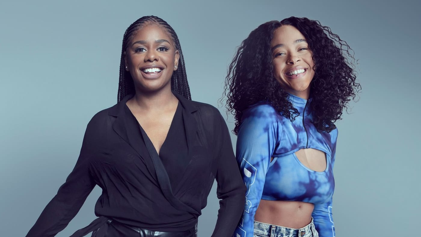 Zeze and Yinka (credit: Channel 4)