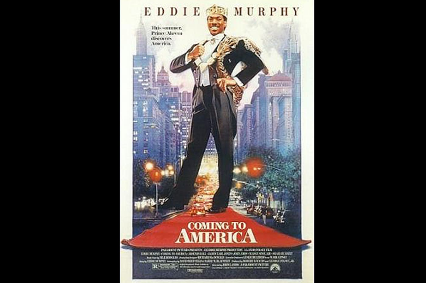 funniest movie all time coming to america