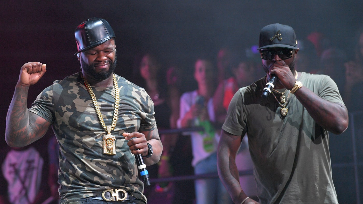 Young Buck and 50 Cent