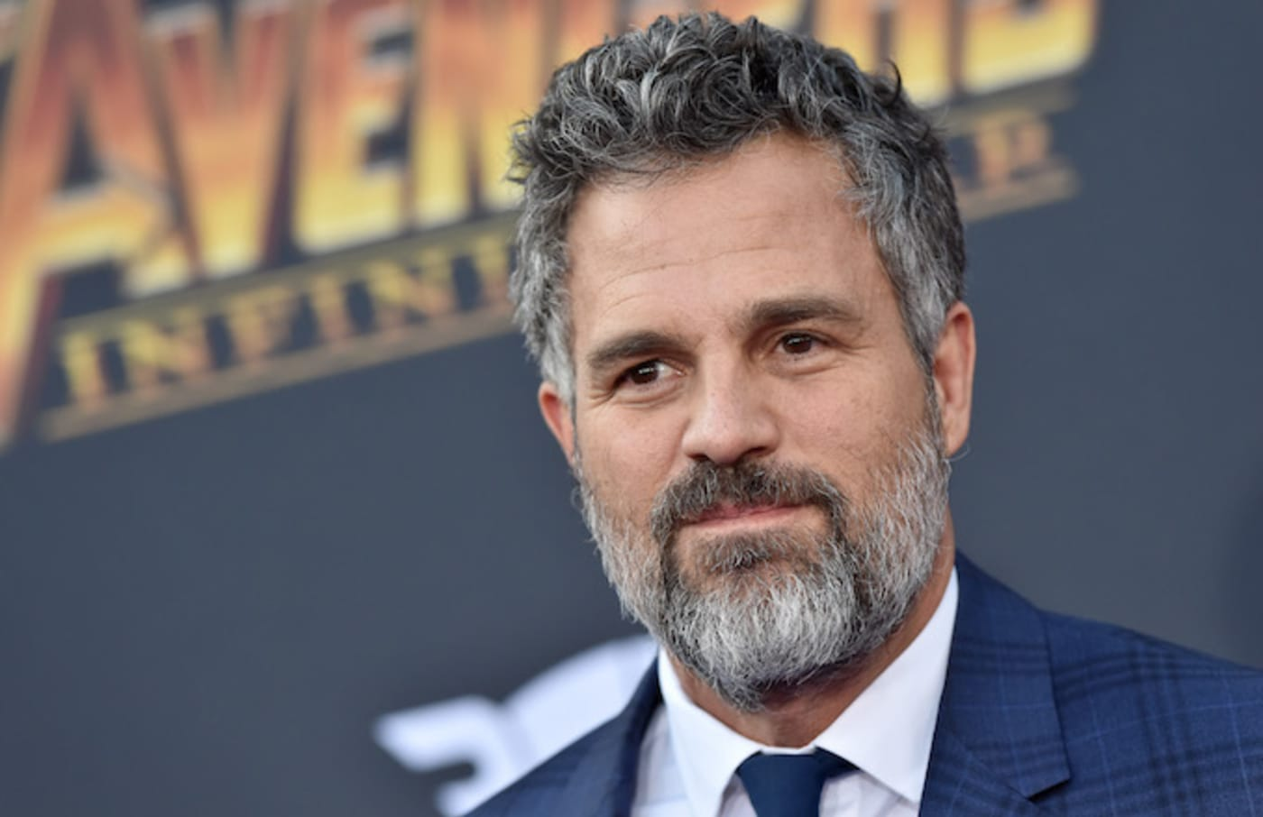 Mark Ruffalo attends the premiere of 'Avengers: Infinity War.'