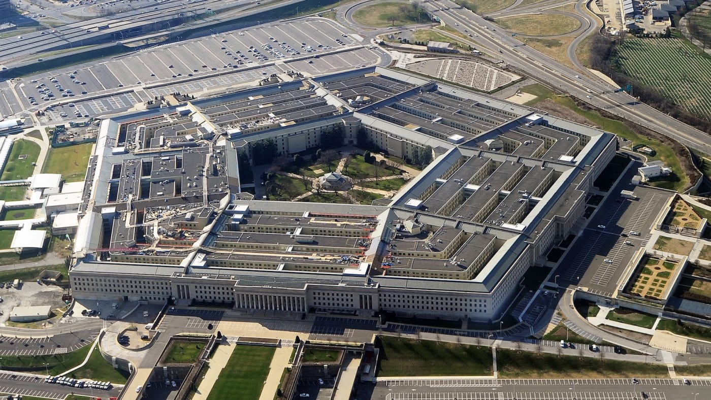 This picture taken 26 December 2011 shows the Pentagon building.