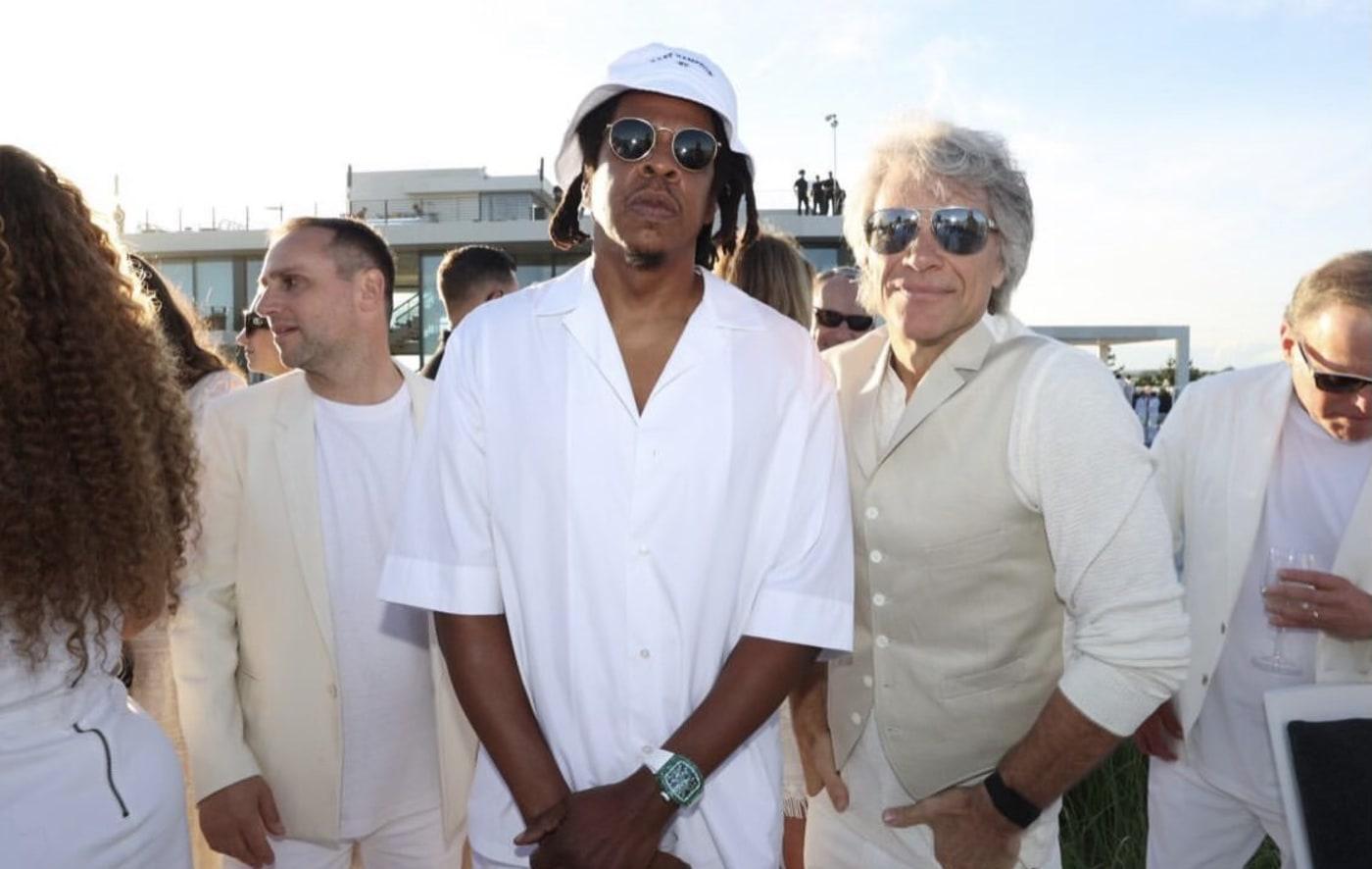 Jay-Z and Jon Bon Jovi