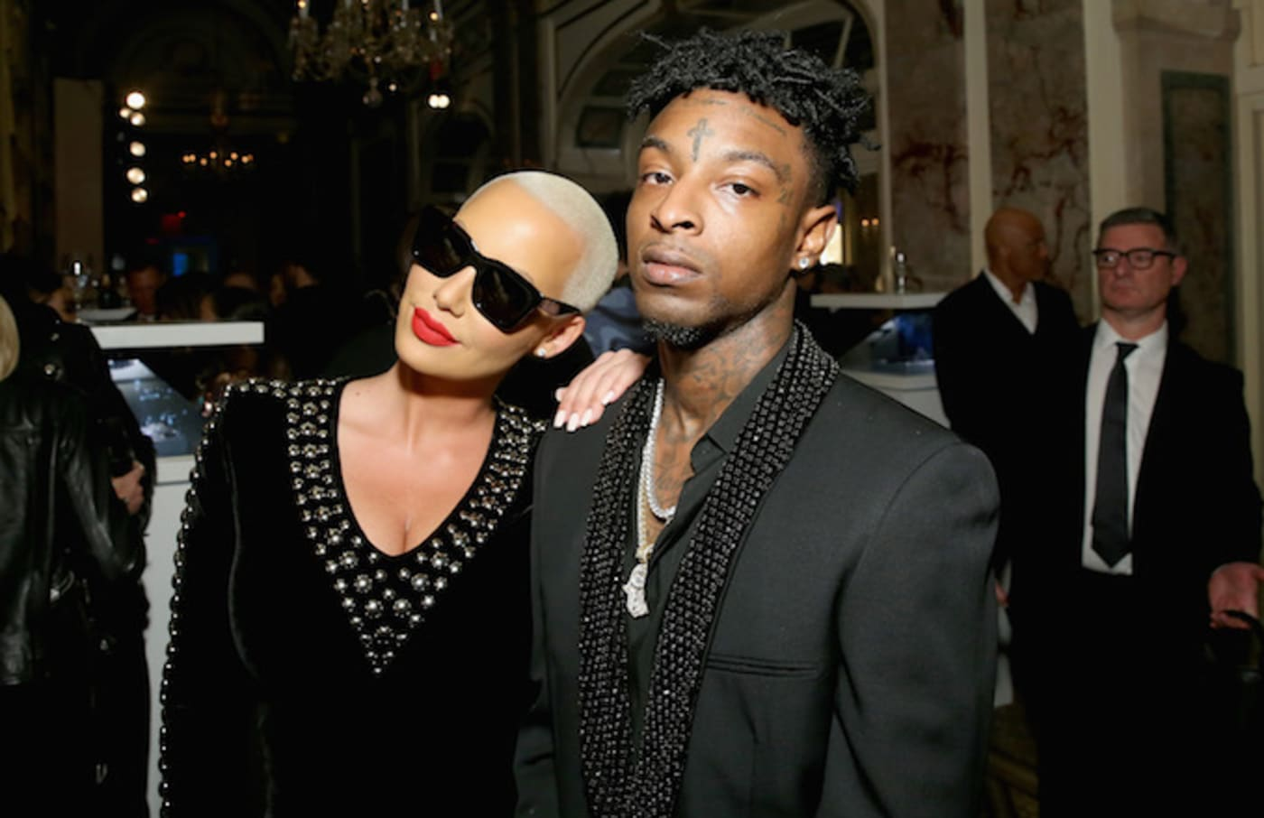 Amber Rose and 21 Savage