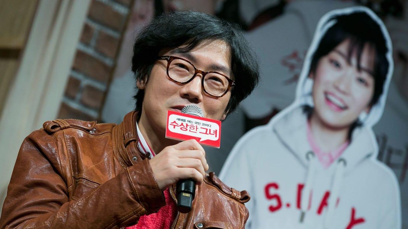 Squid game show creator Hwang Dong hyuk.