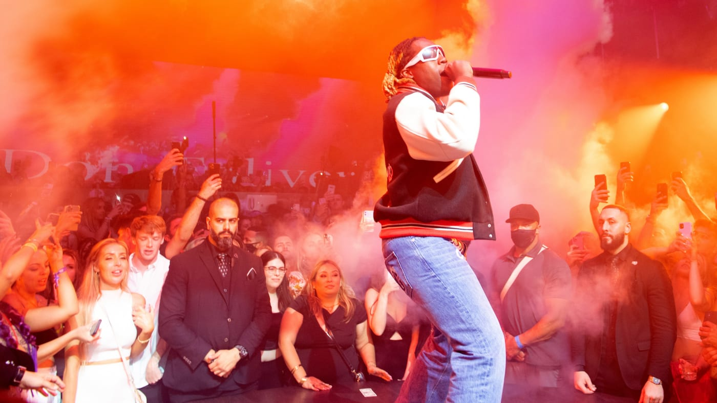 Don Toliver Performing in Miami, Florida