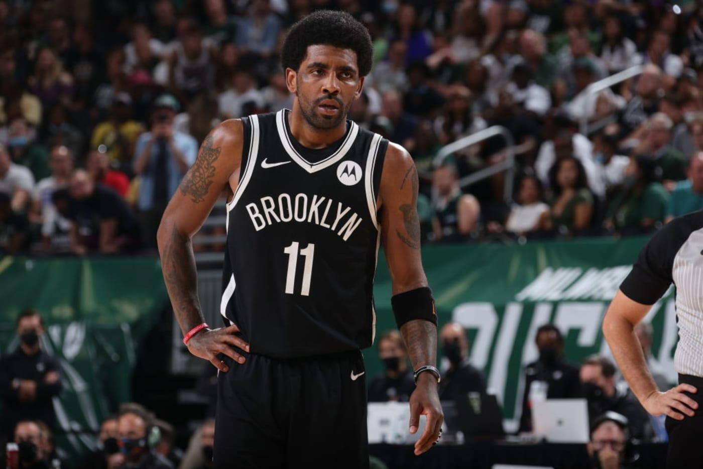 Kyrie Irving Nets Bucks Playoffs 2021