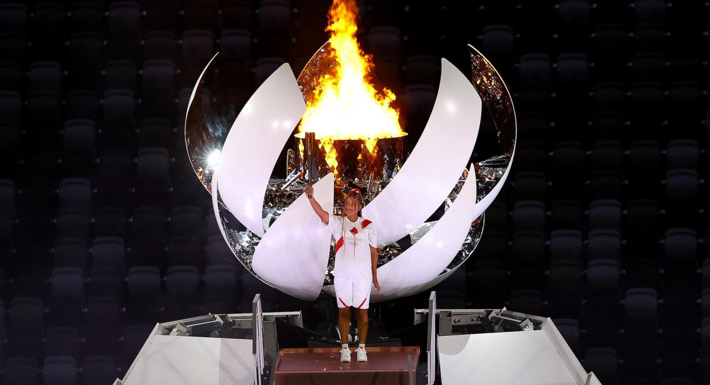 Naomi Osaka at Olympics