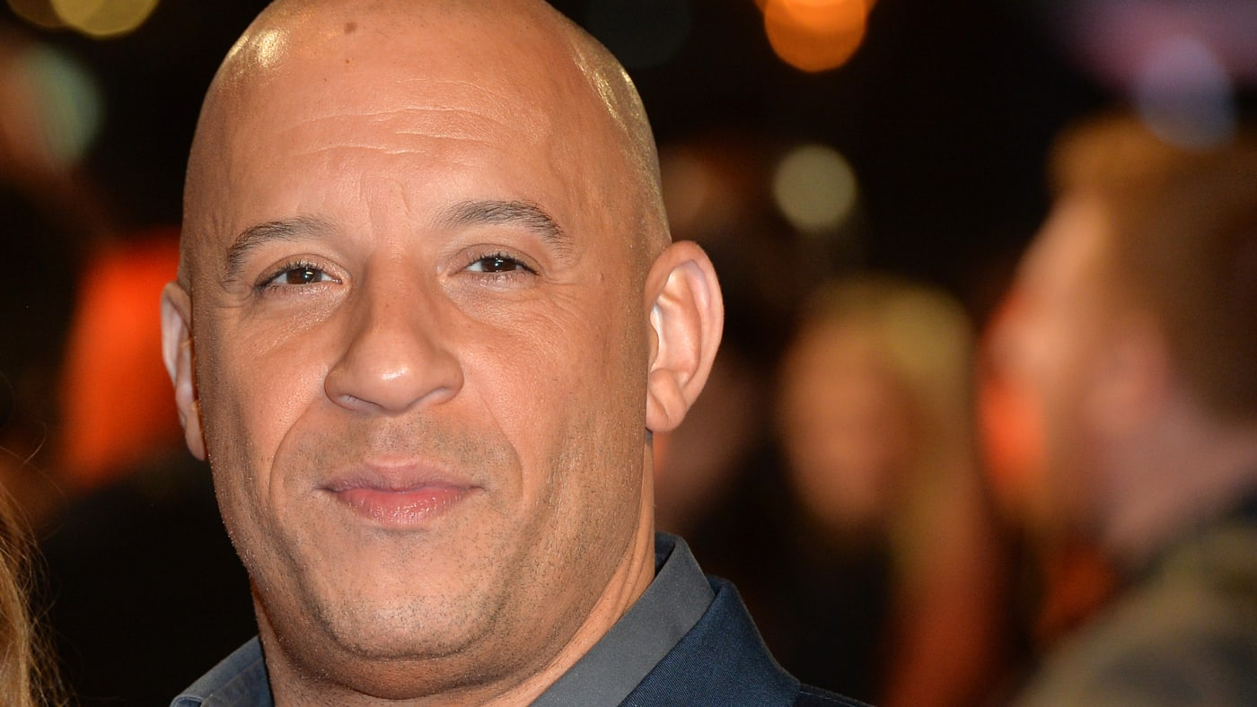 """Vin Diesel attends the UK Premiere of """"The Last Witch Hunter."""""""