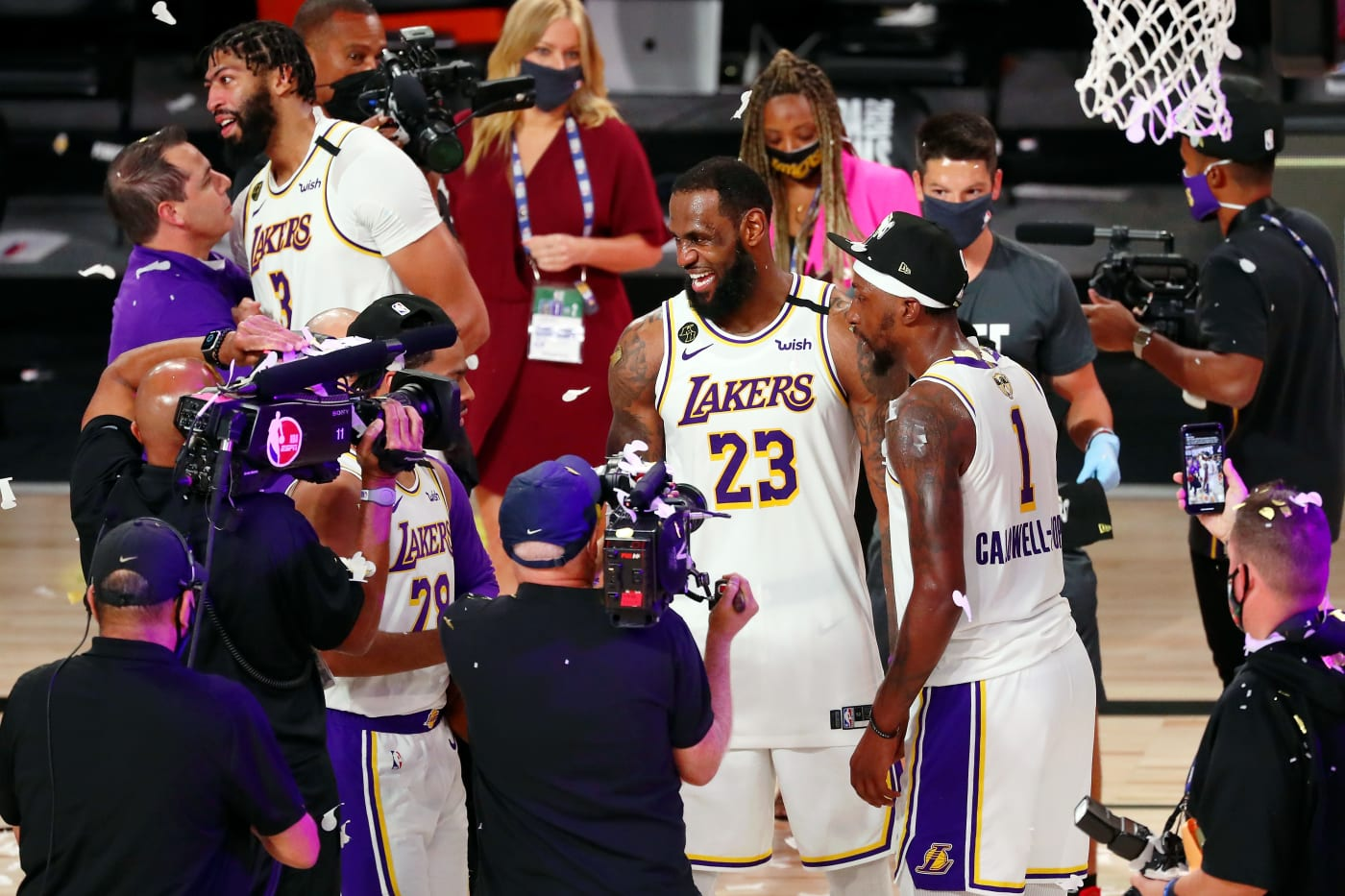 LeBron James KCP NBA Finals Game 6 2020