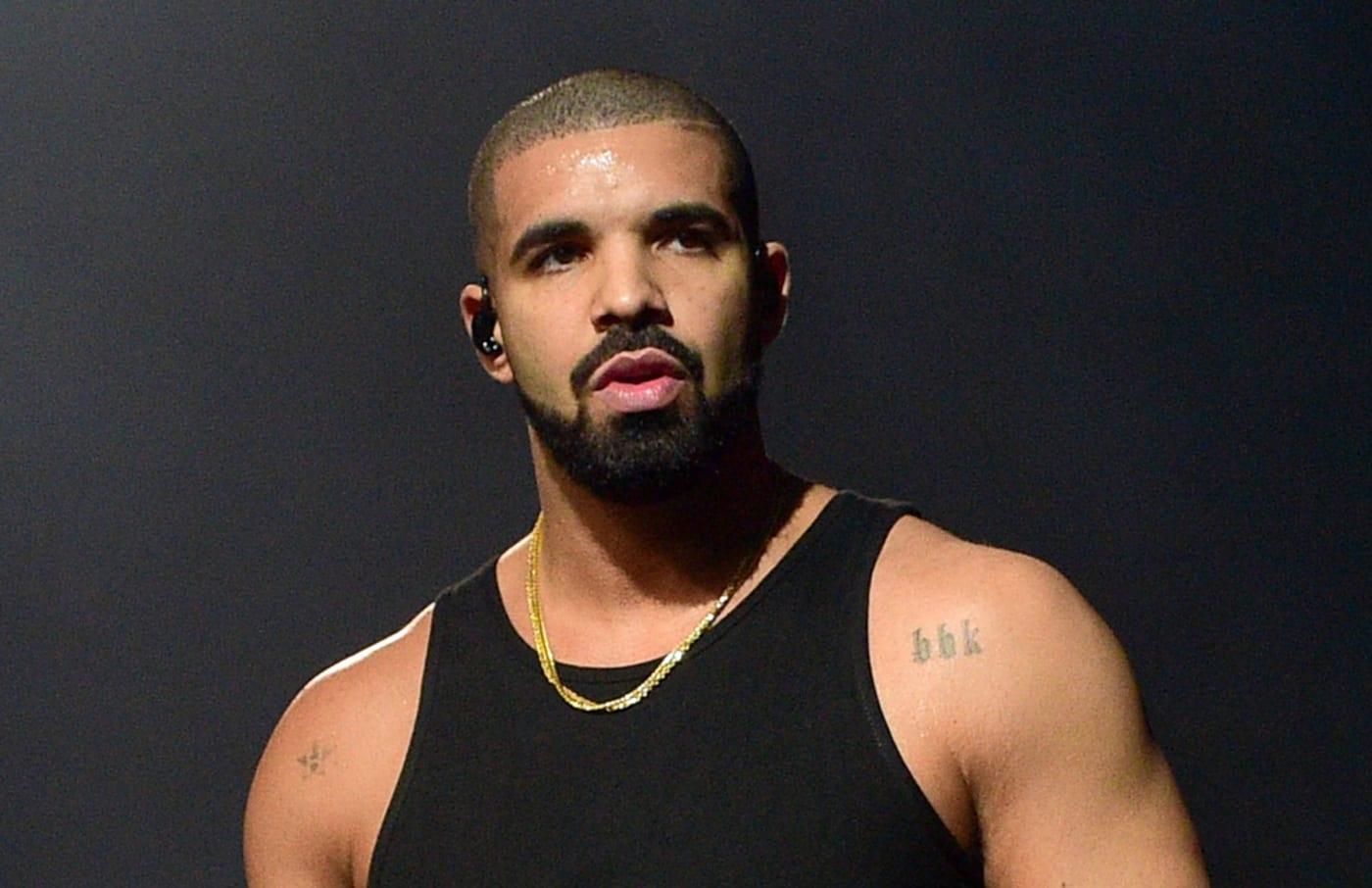 Drake performance photo