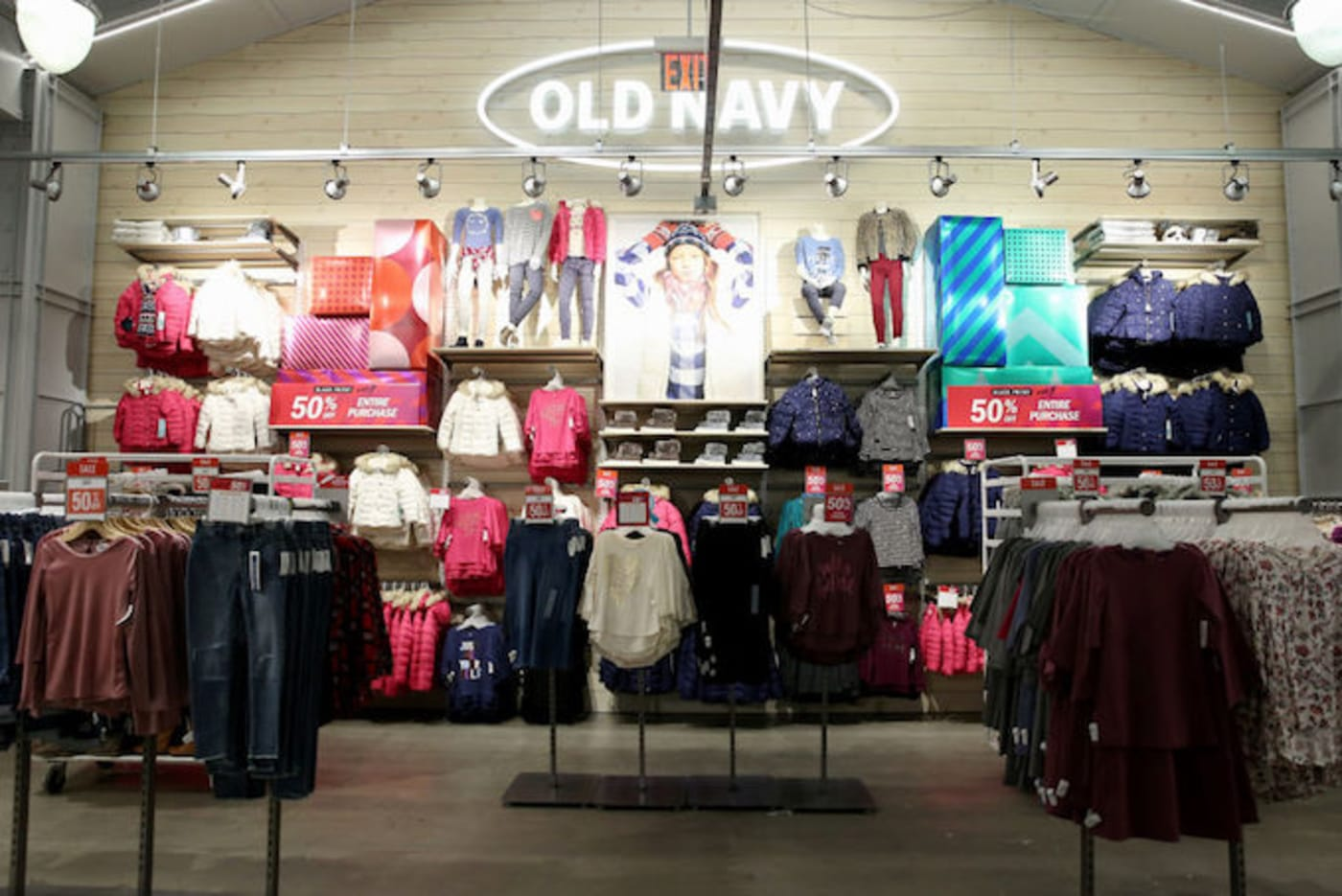 This is a picture of Old Navy.