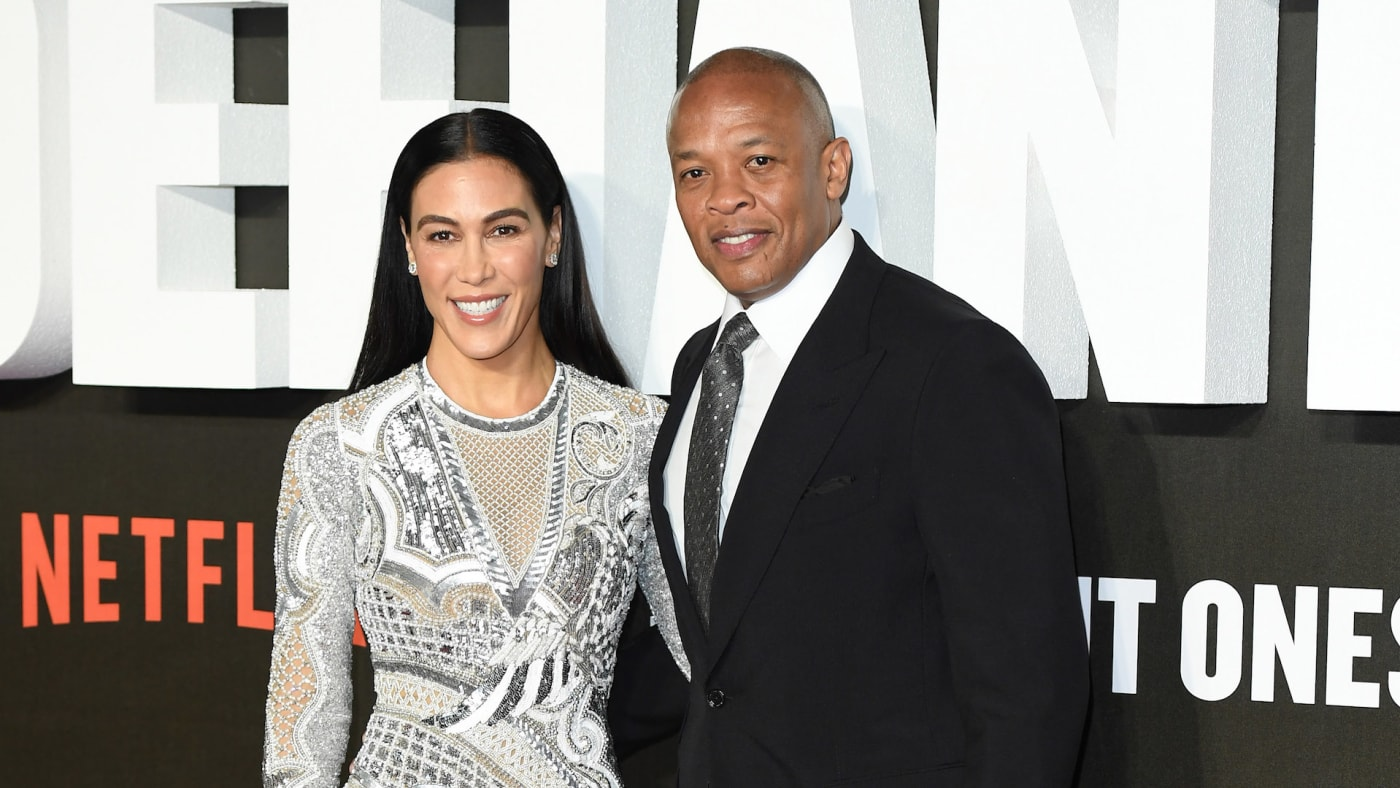 Dr. Dre and wife Nicole Young attend 'The Defiant Ones' special screening