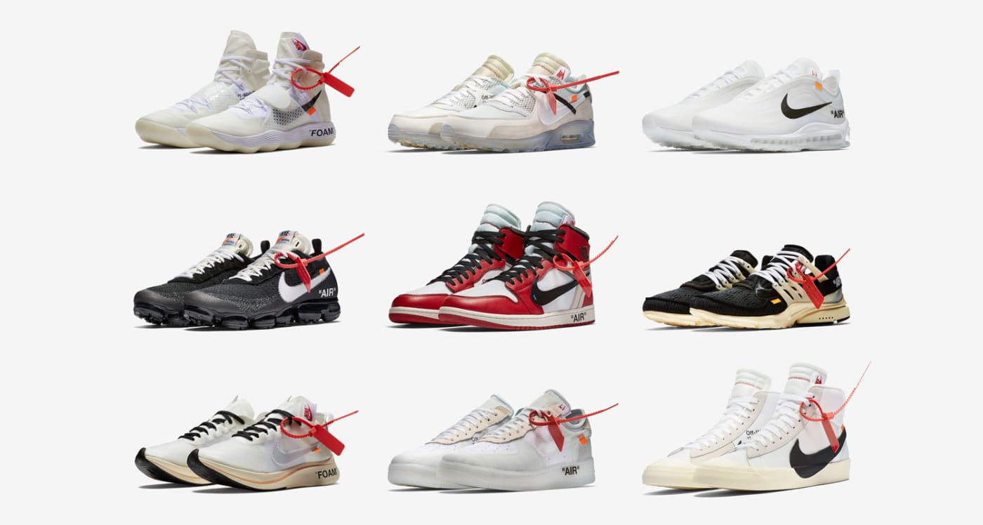 Ranking All of the Off White x Nike Sneakers