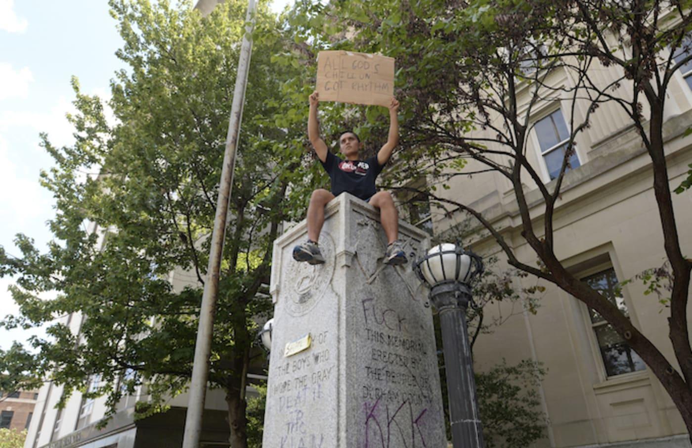 Demonstrator in Durham, North Carolina