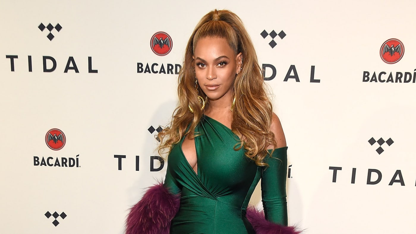 Beyonce attends TIDAL X: Brooklyn at Barclays Center of Brooklyn