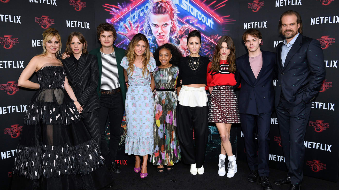 This is a photo of Stranger Things.