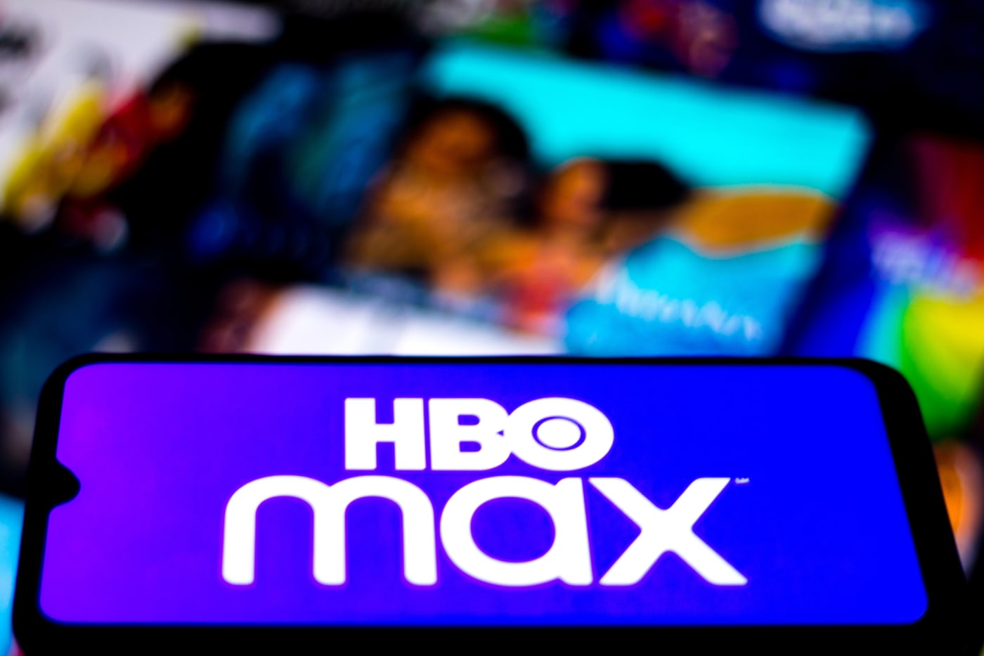 HBO Max logo seen displayed on a smartphone