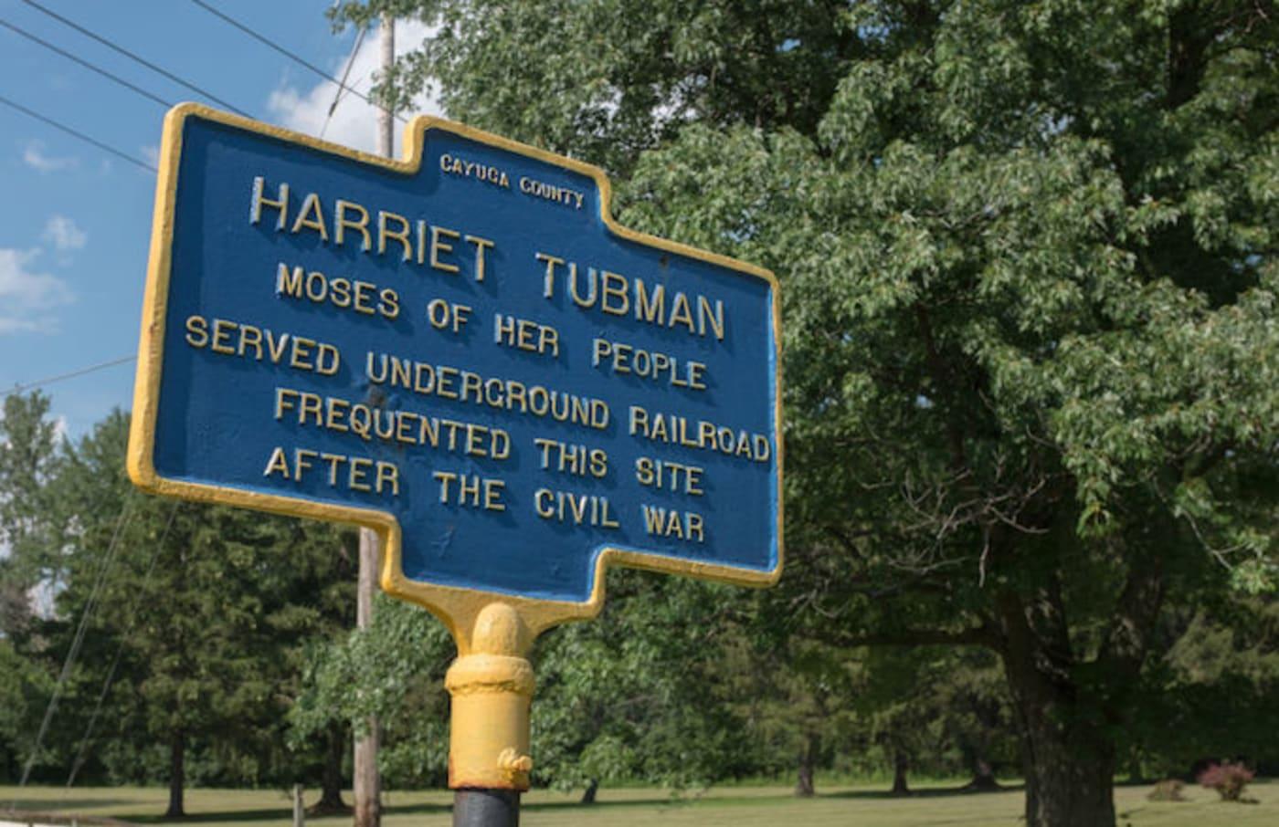 Harriet Tubman sign