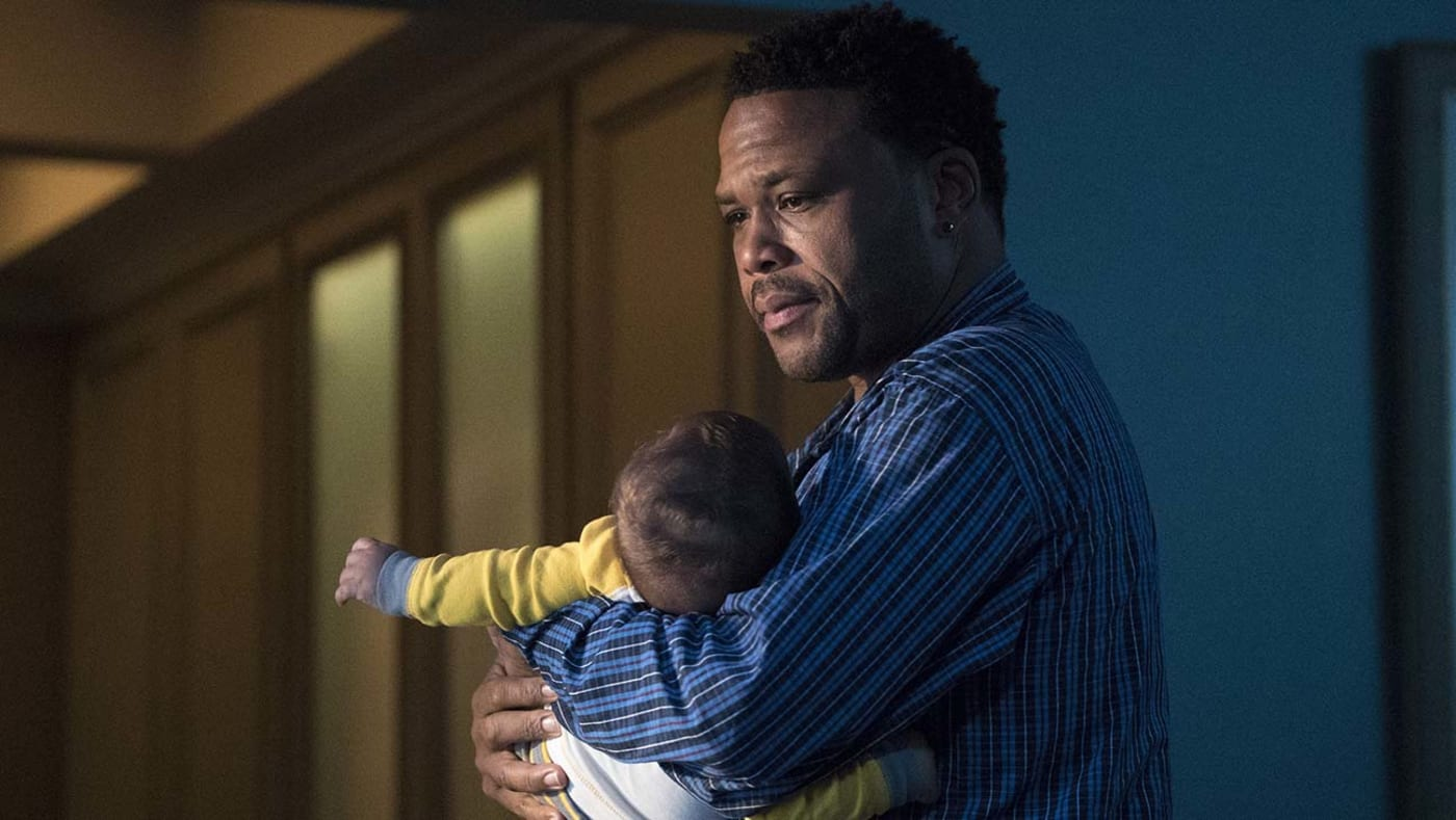 """Anthony Anderson, from the lost black ish episode """"Please Baby Please"""""""