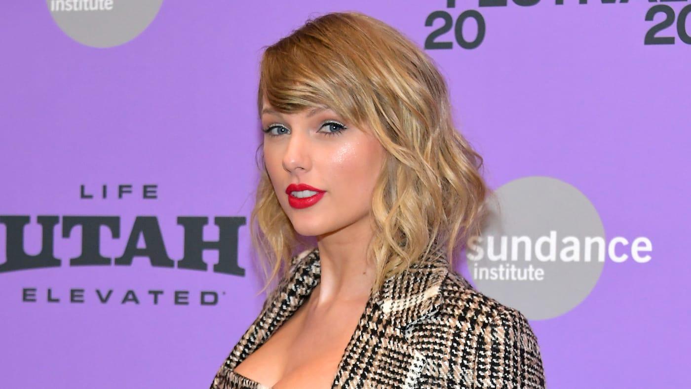 Taylor Swift attends the 2020 Sundance Film Festival.