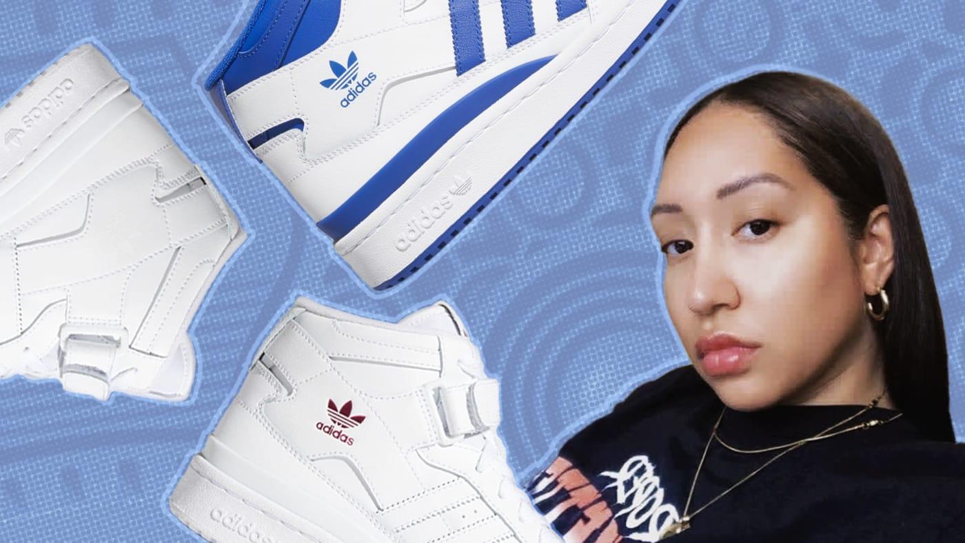 Simone Smyth Adidas Forum