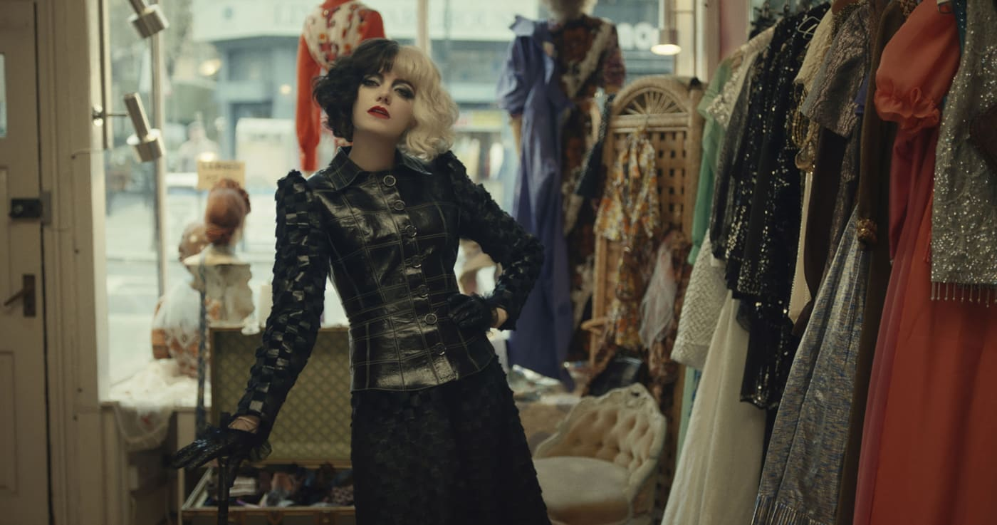 Emma Stone as Cruella in 'Cruella'