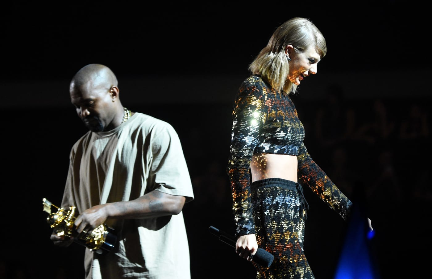 Taylor Swift and Kanye West