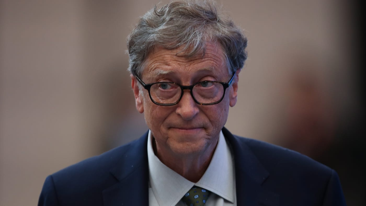 Bill Gates attends a forum at the first China International Import Expo.