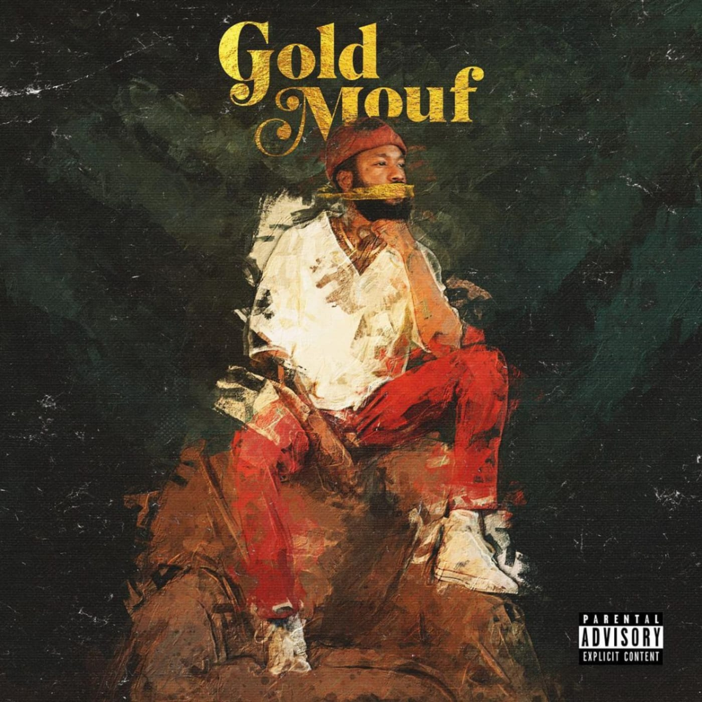 Lute 'Gold Mouf' album cover