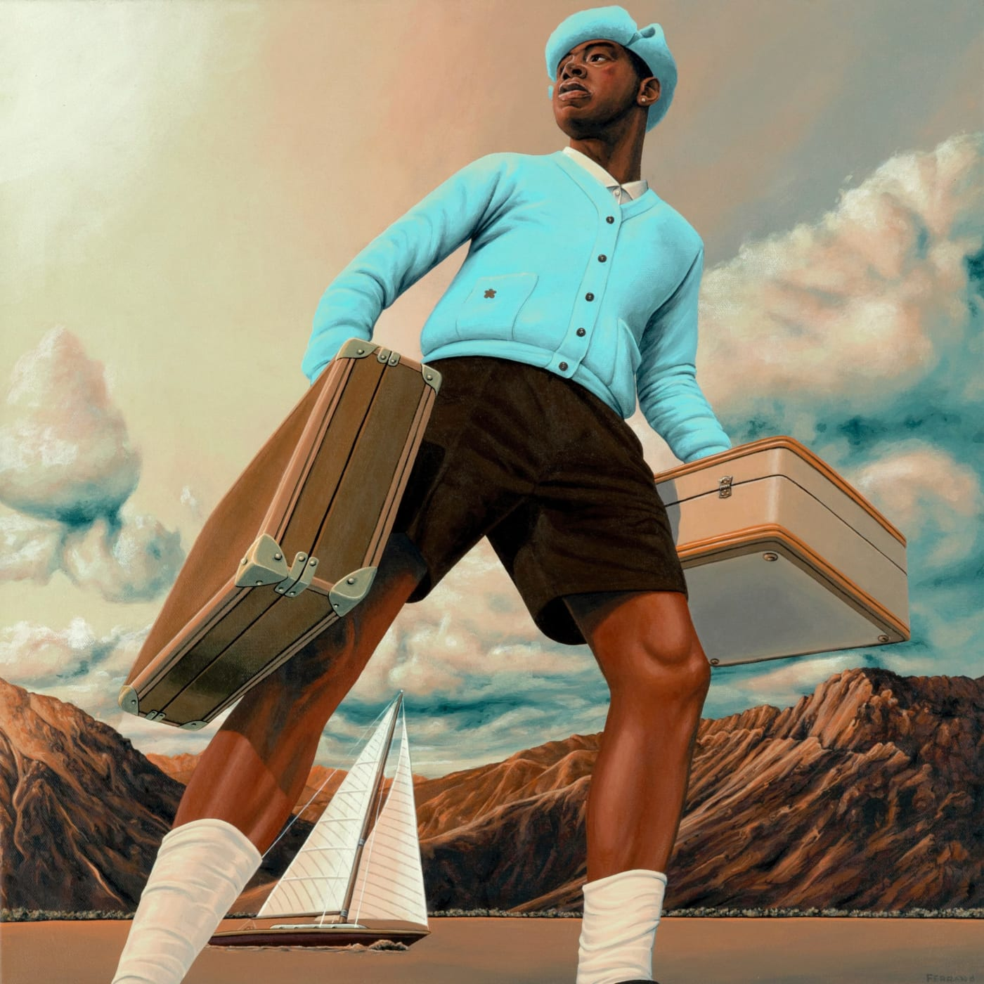 Tyler The Creator's 'Call Me If You Get Lost' Album Cover Art Story