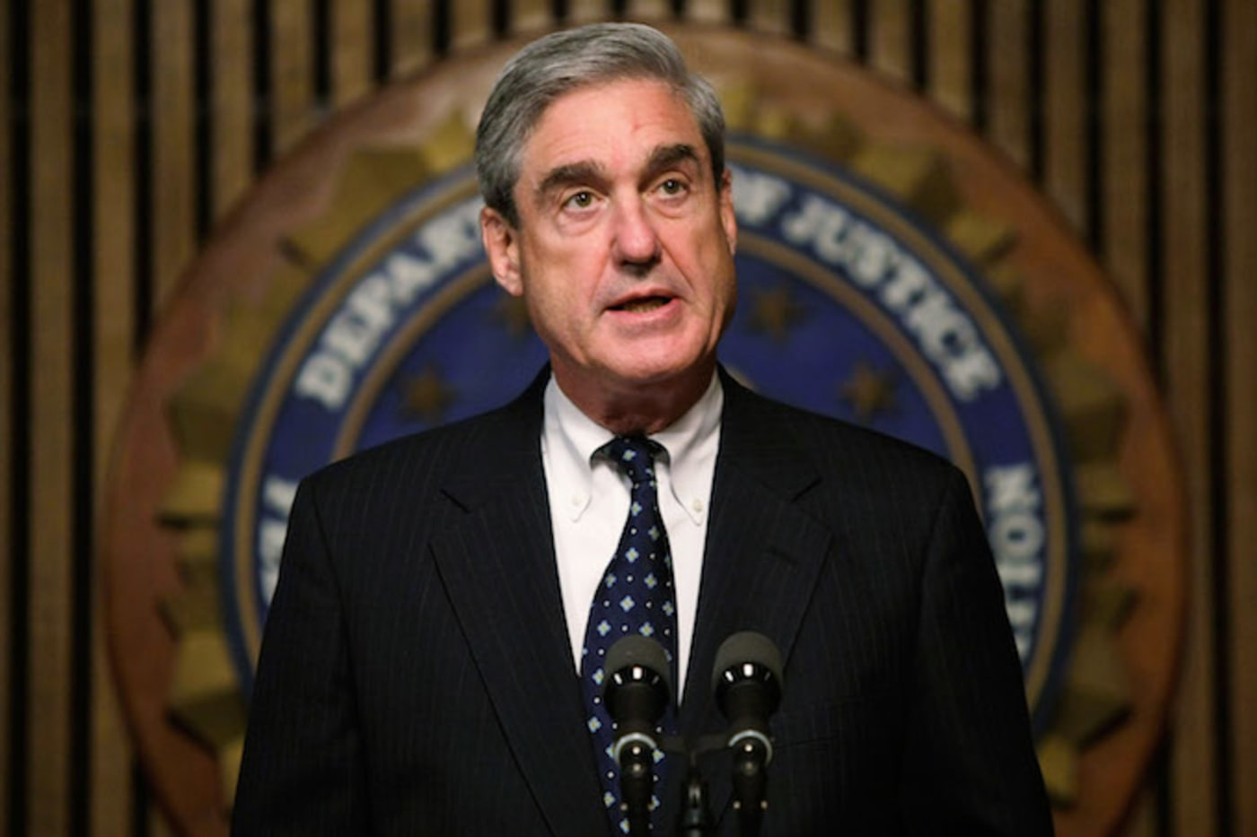 This is a picture of Robert Mueller.