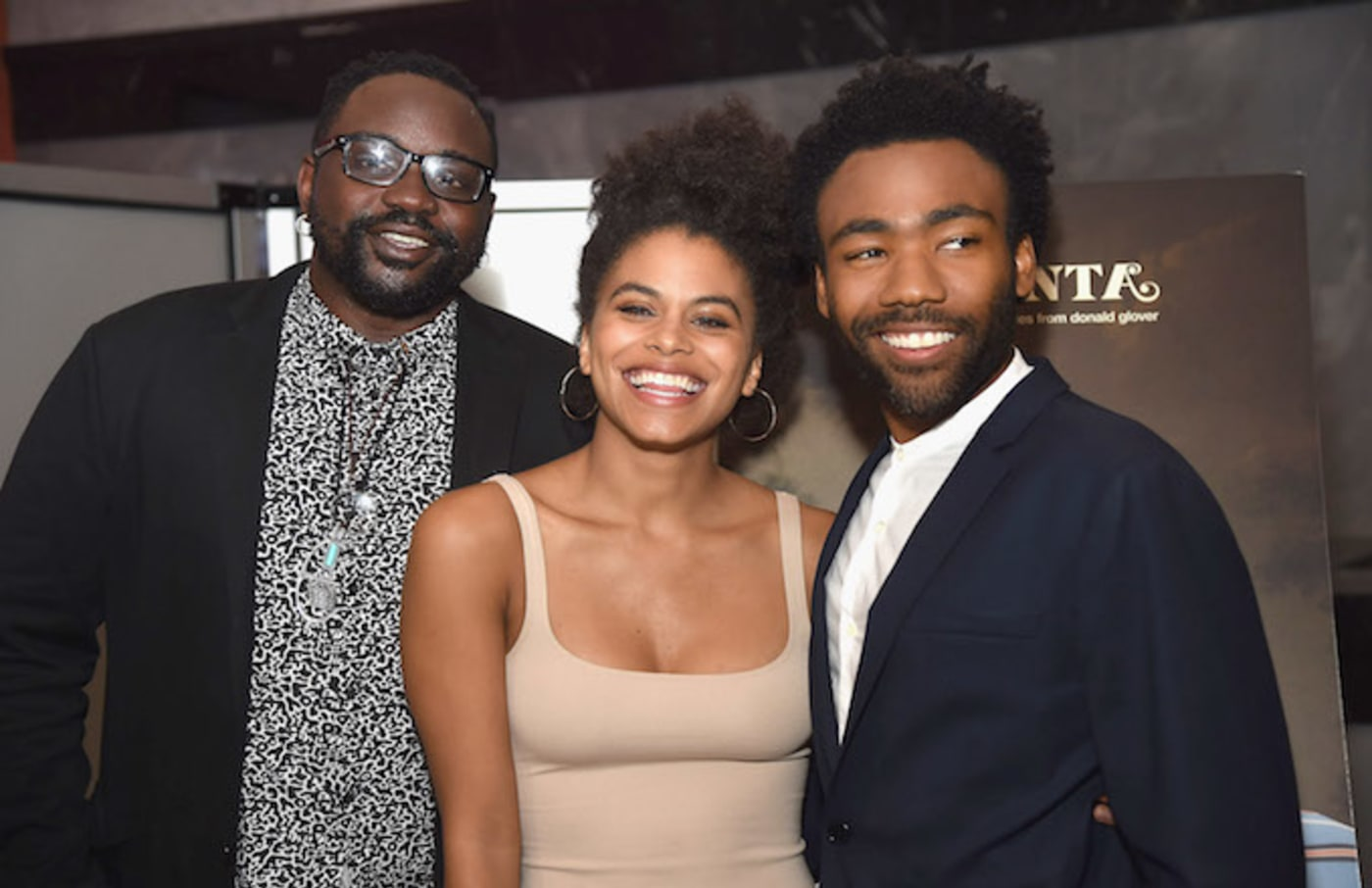 'Atlanta' stars Brian Tyree Henry, Zazie Beetz, and Donald Glover