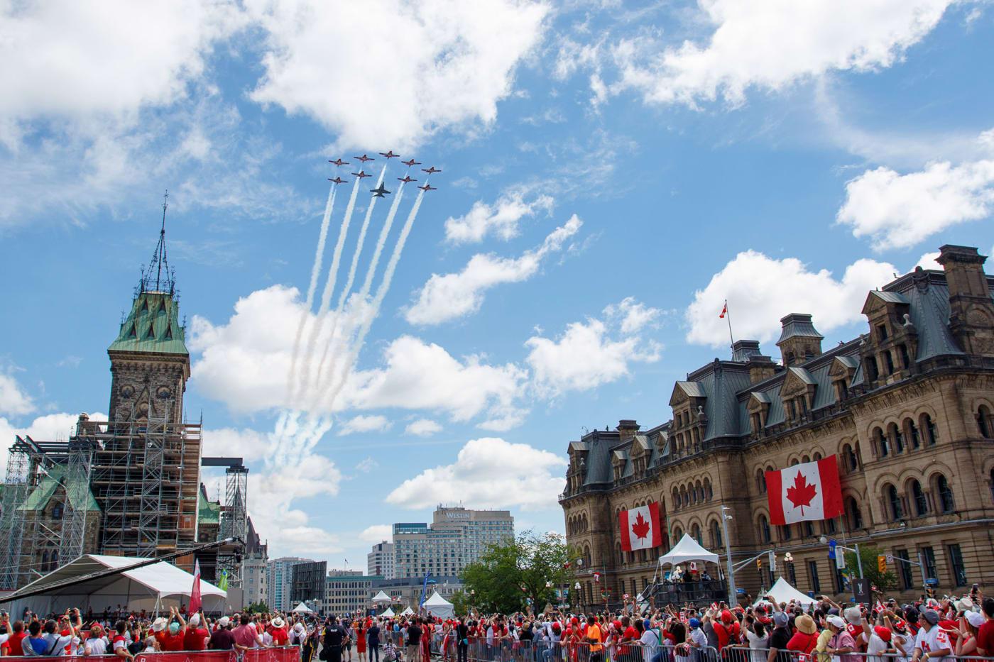 Canada Day celebrations in Ottawa