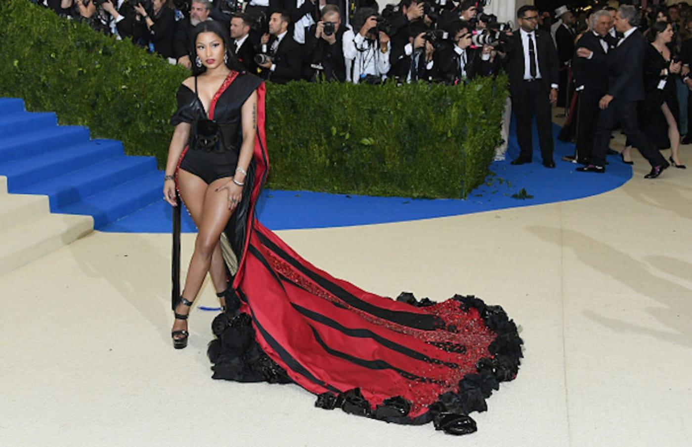 Nicki Minaj attends the \Costume Institute Gala