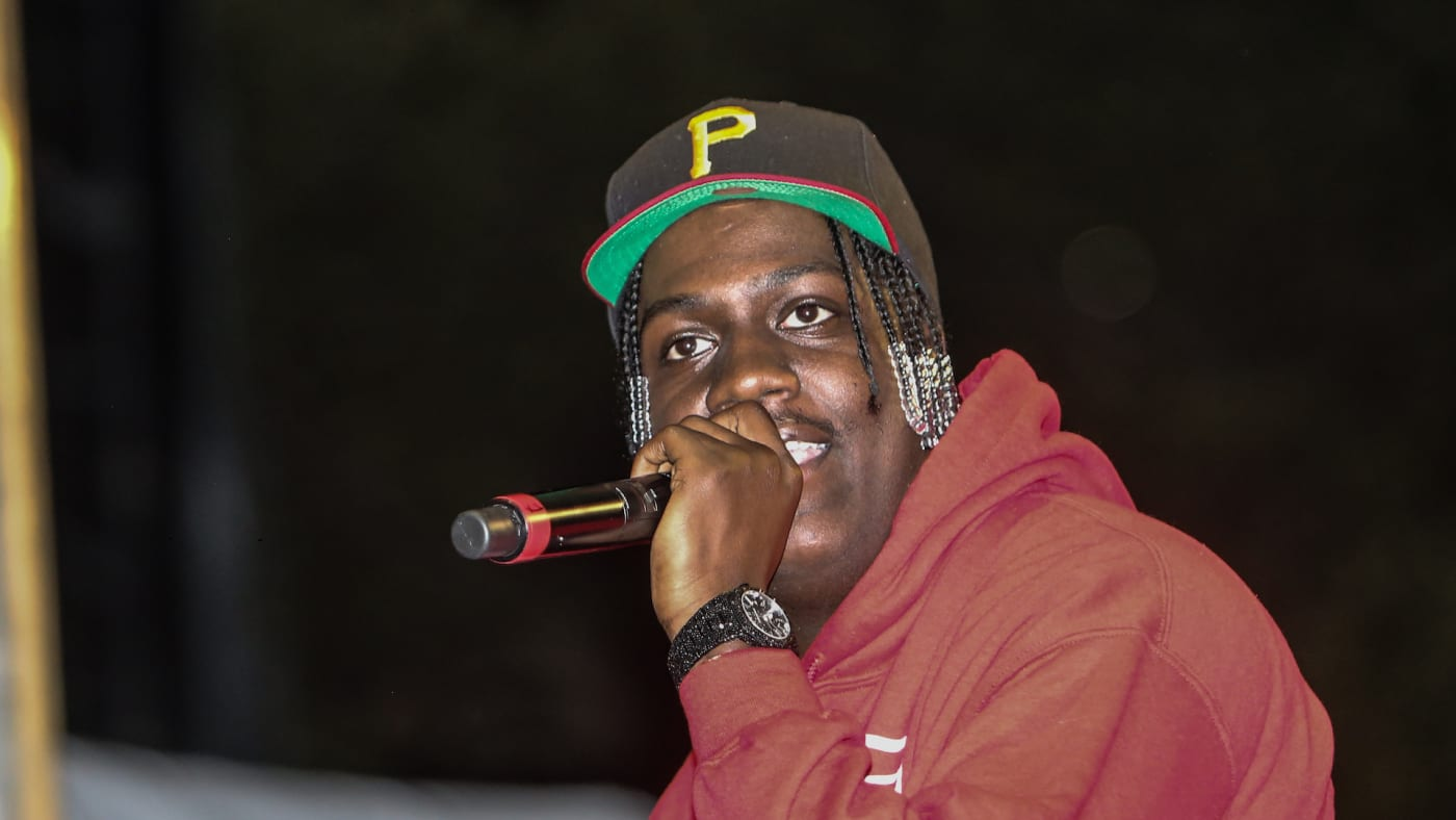Lil Yachty performs at The Lake Shire Drive in at Adler Planetarium