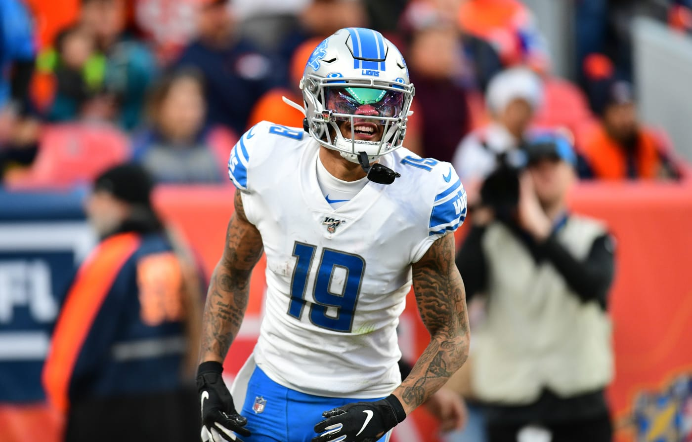 Kenny Golladay Lions Broncos 2019