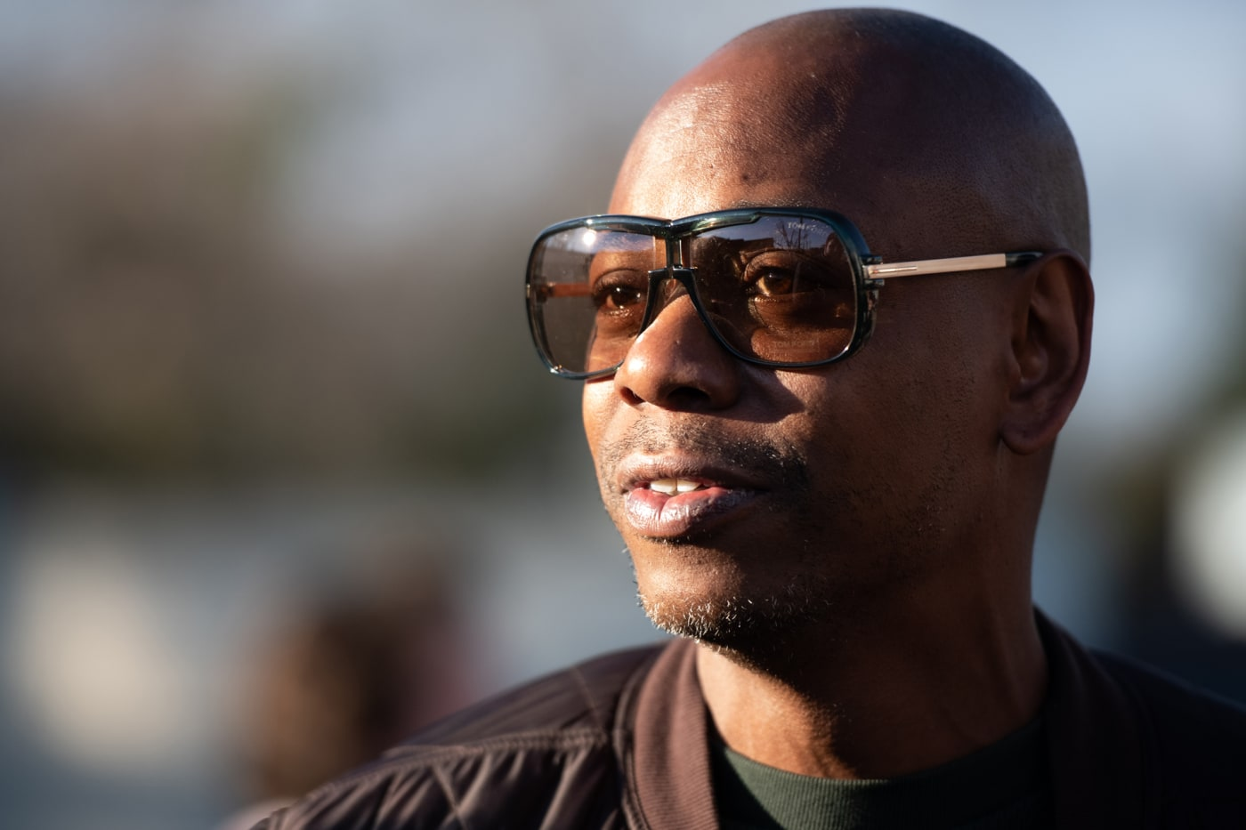 Dave Chappelle campaigns for Andrew Yang on January 30, 2020 in North Charleston, South Carolina.