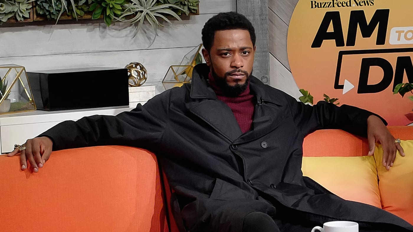 """Lakeith Stanfield attends BuzzFeed's """"AM To DM"""""""