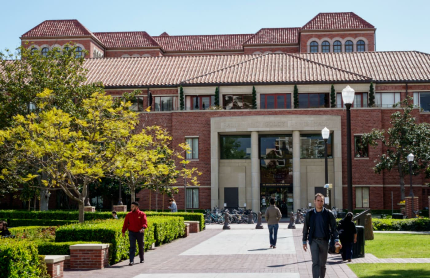 The exterior of the University of Southern California