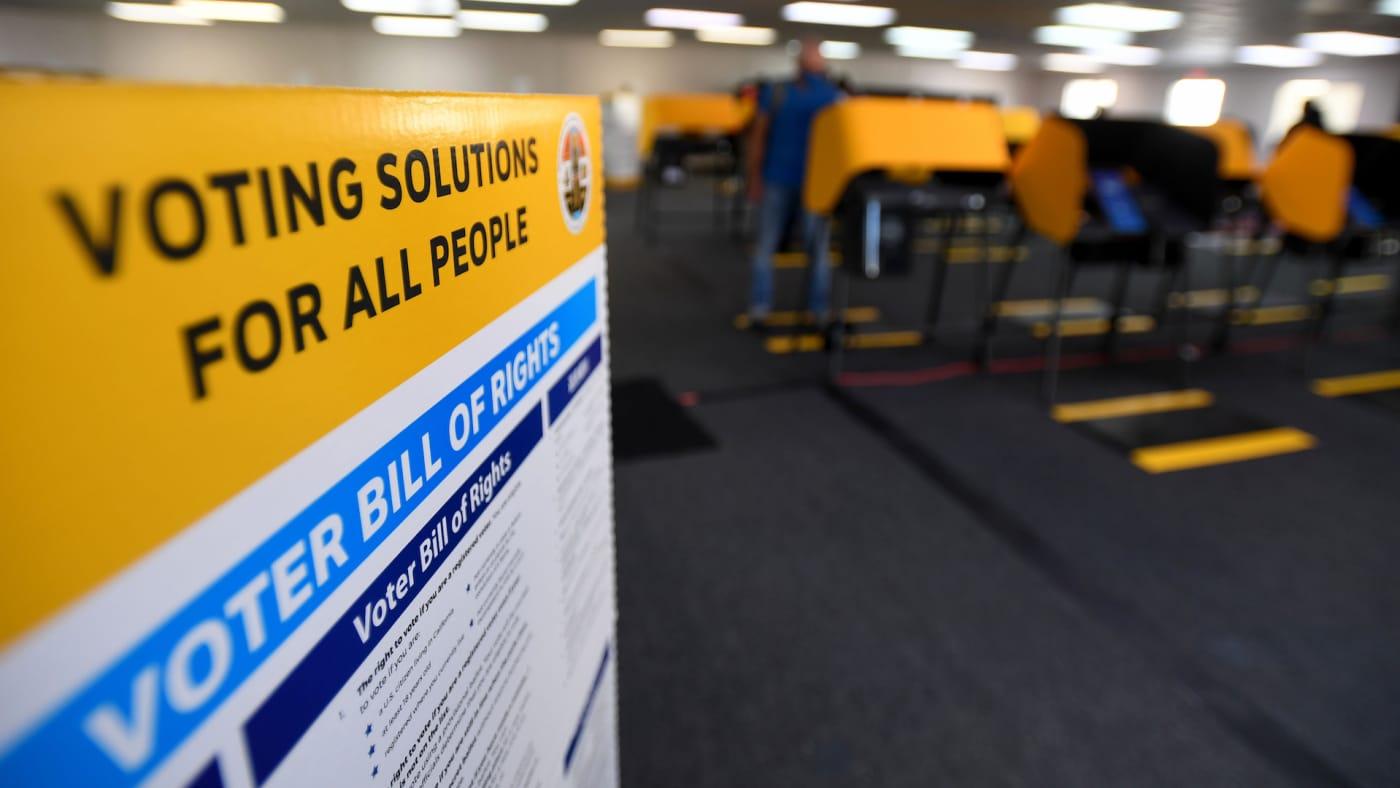 voter registration election day