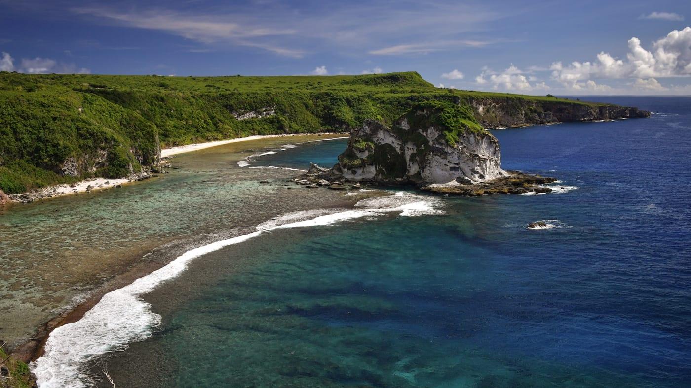 Saipan Island, one of the Northern Mariana Island